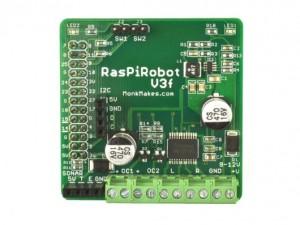 Carte RaspiRobot v3