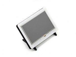 """Ecran LCD Tactile 5"""" HDMI 800x480 avec Boitier"""