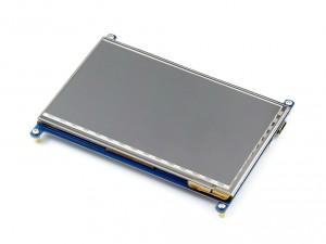 """Ecran LCD Tactile 7"""" HDMI 800x480"""