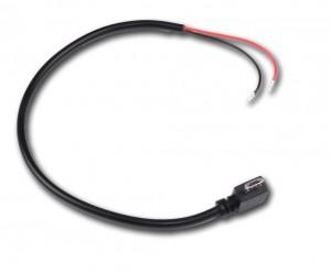 Câble Micro USB coudé d'alimentation
