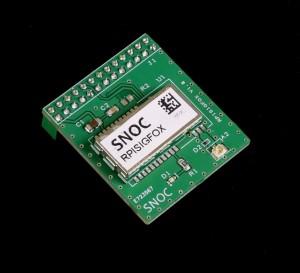 Carte SIGFOX pour Raspberry Pi2 et Pi3 avec Boitier DIN