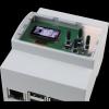 Boitier 4M Rail DIN avec afficheur OLED et clavier pour raspberry PI