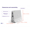 DImension et Connectivité de la Sigfox Access Station Micro SMBS-T4