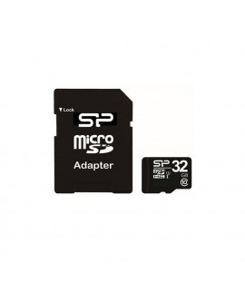 Carte mémoire Silicon Power Micro-SD Classe 10 32Go - SP032GBSTH010V10SP