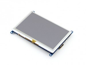"""Ecran LCD Tactile 5"""" HDMI 800x480 (B)"""