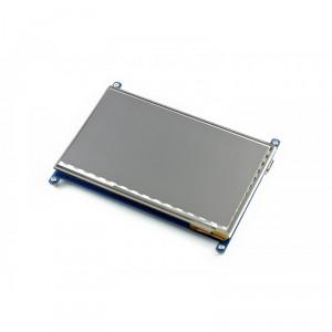 """Ecran LCD HDMI 7"""" 1024x600 avec Boitier bicolore"""