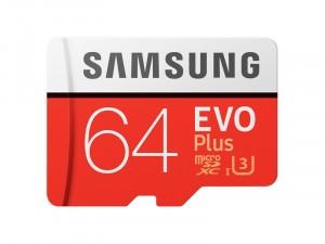 Memoire Samsung EVO+ 64Go microSDHC avec Adaptateur SD