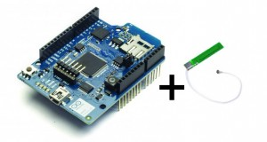 Kit Arduino Wifi Shield + Antenne PCB