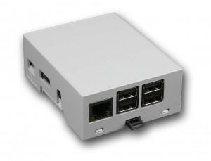 Boitier 4M Rail DIN Compact Raspberry PiB+ / Pi2 / Pi3 / Pi3 B+