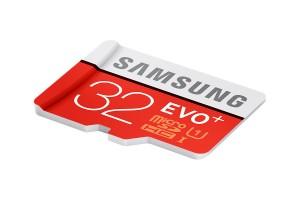 Memoire Samsung EVO+ 32Go microSDHC avec Adaptateur SD