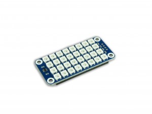 carte extension afficheur matrice de LED RGB 8x4 pour Raspberry Pi