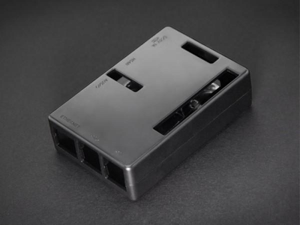 Boitier pour Raspberry Pi B+, Pi2 - Noir