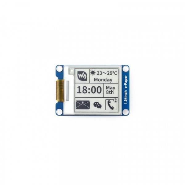 200x200, 1.54inch E-Ink display module