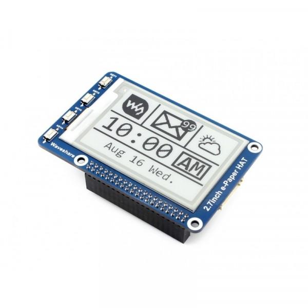 Module d'affichage E-Ink de 264x176, 2.7 pouces pour Raspberry Pi