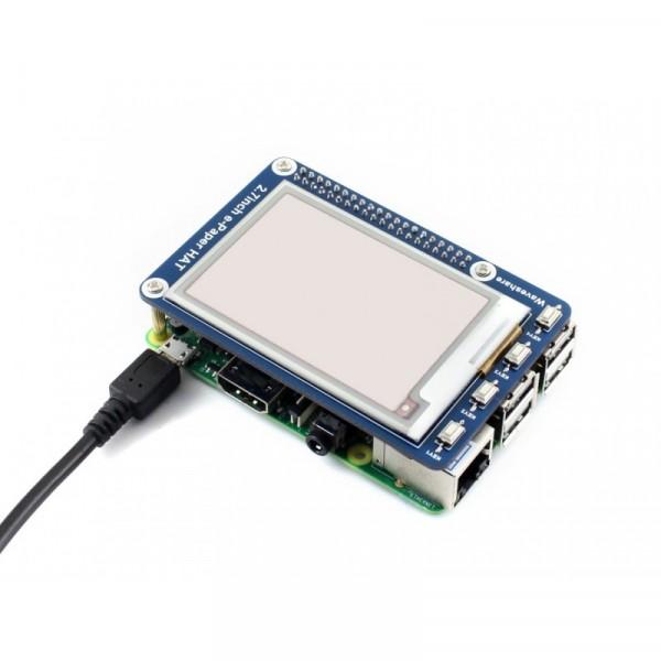 Module d'affichage E-Ink de 264x176, 2.7 pouces pour Raspberry Pi, 3 couleurs
