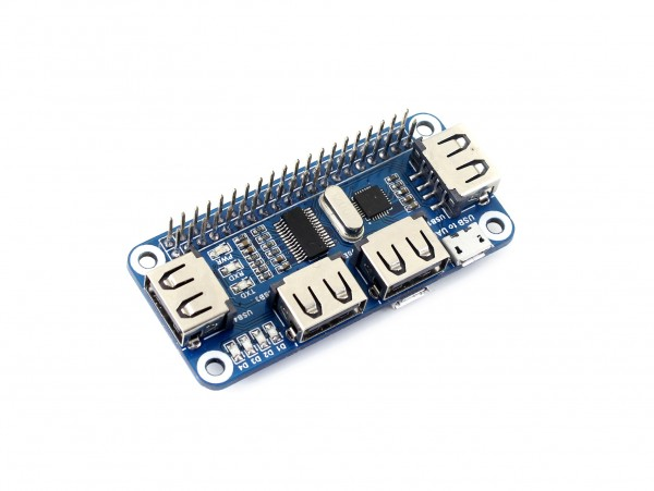 USB HUB 4 ports pour Raspberry PI et Pi Zero