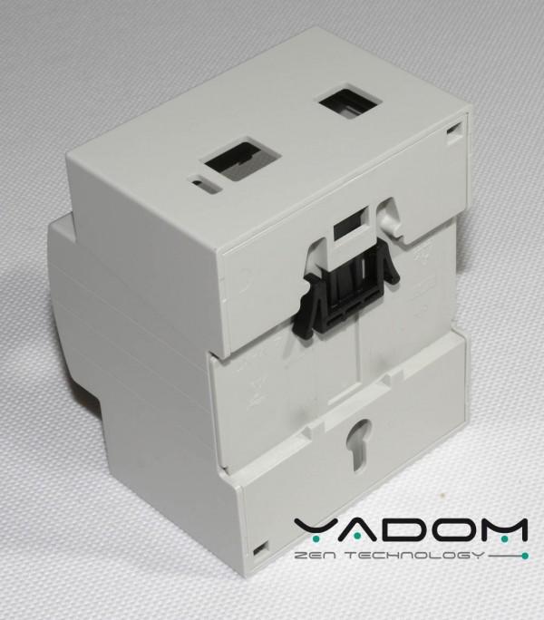 Boitier 4M Rail DIN pour Arduino UNO