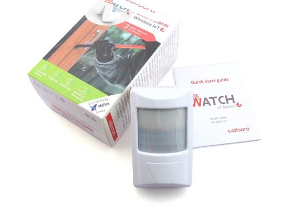 Détecteur de courant Sigfox Ealloora Watch (contenu de la boite)