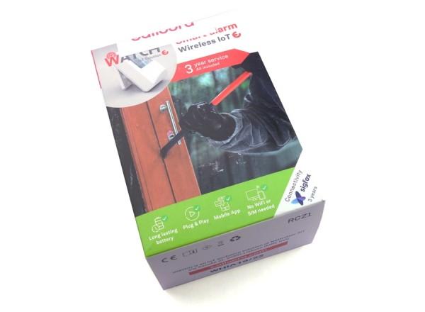 Détecteur de courant Sigfox Ealloora Watch (boîte)