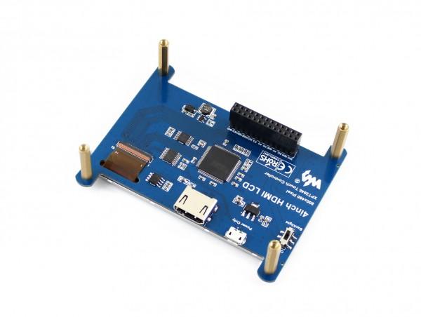 "Ecran LCD Tactile 4"" HDMI 800×480 IPS"