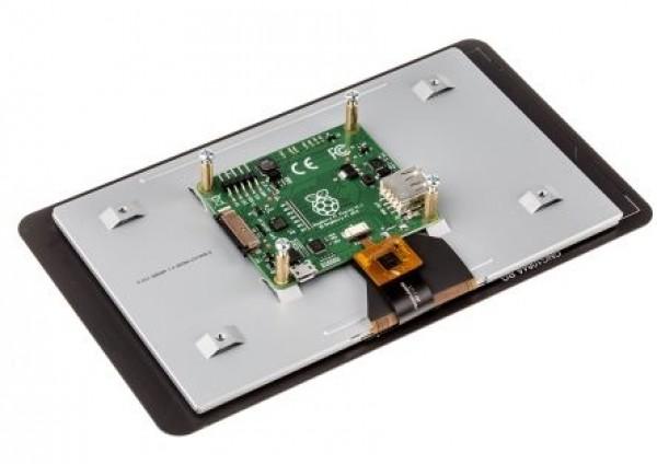 """Ecran tactile LCD Raspberry Pi - 7"""" Officiel, tactile 7"""" 800x480"""