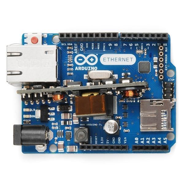 Arduino Ethernet Rev3 avec PoE