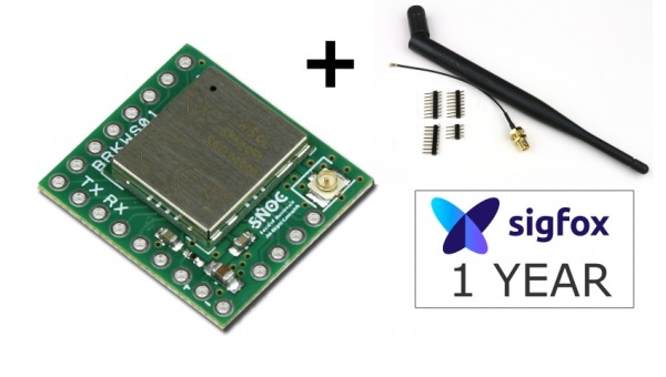Kit de Développement Sigfox - SDR Dongle + Breakout Wisol BRKWS01