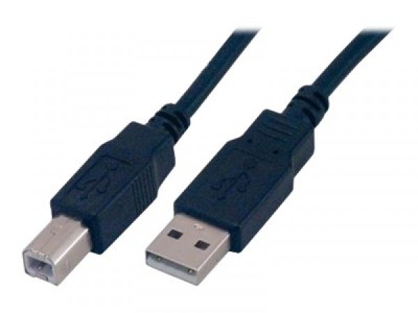 Câble USB A <> USB B L=200cm  idéal pour alimentation Arduino Mega