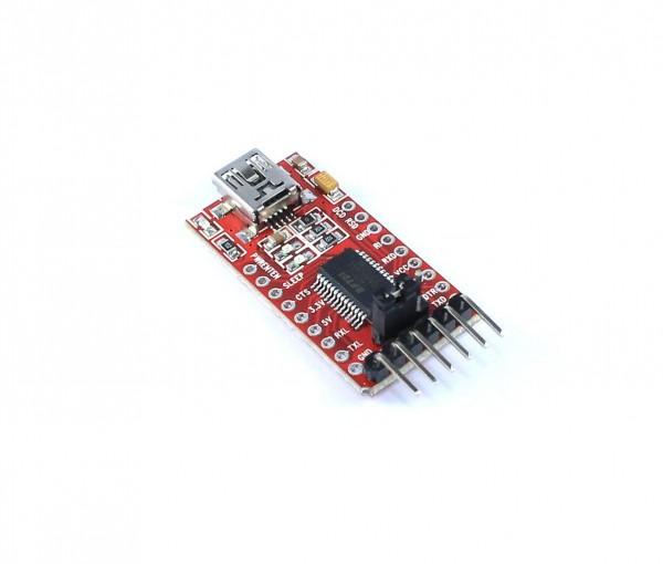 Convertisseur USB Série FTDI FT232 (mini USB)