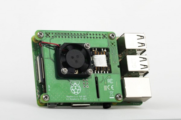 Carte d'extension Raspberry Pi PoE alimente la Raspberry Pi 3 modèle B+ via un câble Ethernet