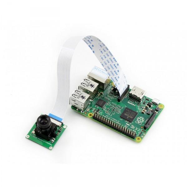Caméra Raspberry Pi focus ajustable 75.7° F2.0