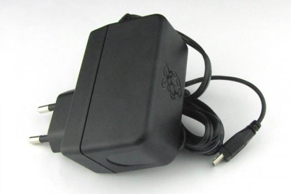 Alimentation Raspberry Pi Officielle 5.1V, 2.5A, Micro USB EU