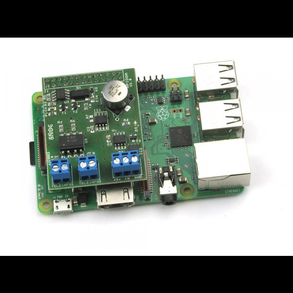 Carte RPIDOM v2 Téléinformation pour Raspberry Pi