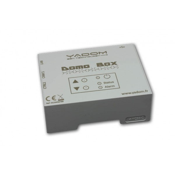 Personnalisation de façade boitier 4M Compact