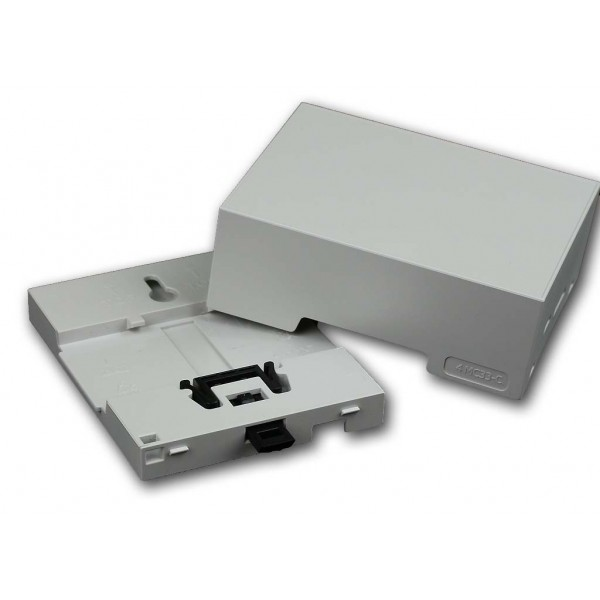 Boitier 4M Rail DIN Compact pour Raspberry Pi