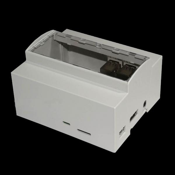 Boitier 6M Rail DIN pour Raspberry Pi B+ / Pi 2 /Pi 3 PRO