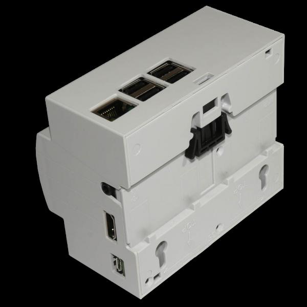 Case 6M Rail DIN for Raspberry Pi B+ / Pi 2 /Pi 3