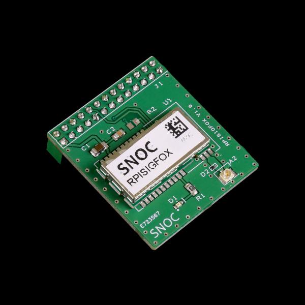 Kit Carte de communication SigFox pour Raspberry Pi avec Boitier DIN Iot