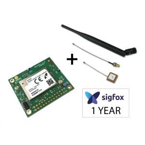 Kit Carte Breakout BRKWS20 Quad mode (Sigfox - Wifi - BLE - GPS) + Antennes