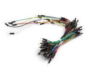 Kit 70 câbles M/M Multicouleur