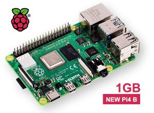 Nouvelle carte Raspberry PI 4 modèle B - Version 1Gb (Vue 0)
