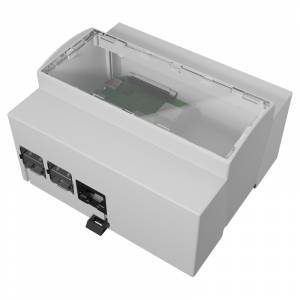 Boitier Pi 4 6M Rail DIN pour Raspberry Pi 4