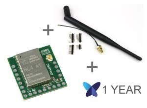 Bundle Carte Breakout Sigfox BRKWS02 RC4 avec Antenne et Abo Sigfox