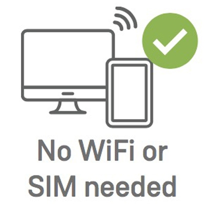 Ealloora No Wifi or Sim needed