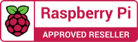 Logo Raspberry Pi Approved Reseller